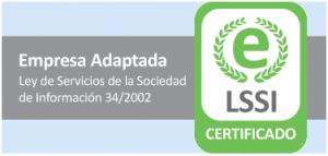 Certificado LSSI