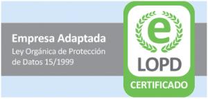 Certificado LOPD