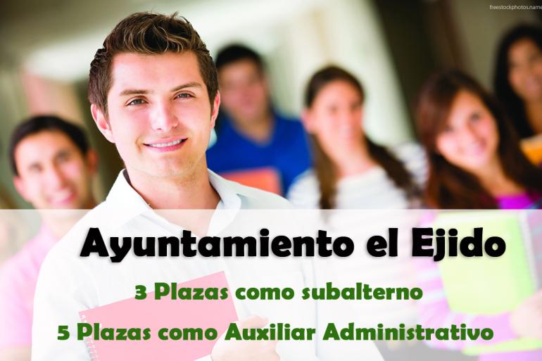 Oferta de Empleo Ayuntamiento el Ejido