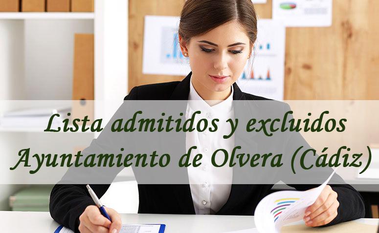 Auxiliar Administrativo ayuntamiento de olvera