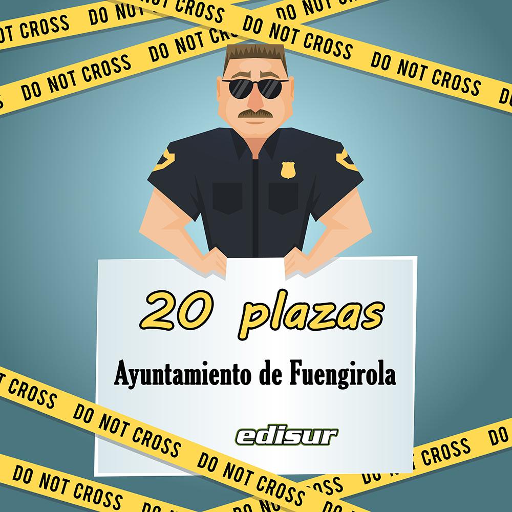 20 plazas de policía local en Fuengirola