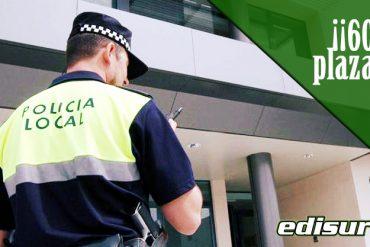 60 plazas Policía Local Almería