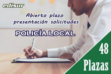 Abierto plazo para Policía Local