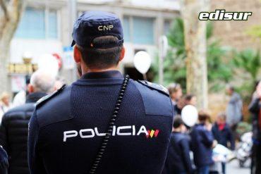 Policía local en Mojácar