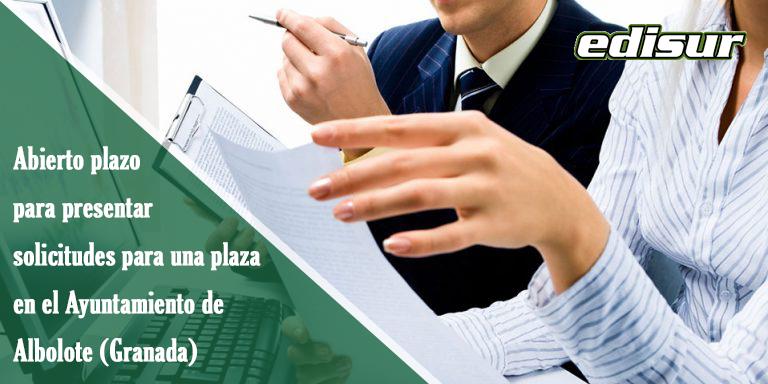 Auxiliar Administrativo Ayuntamiento de Albolote