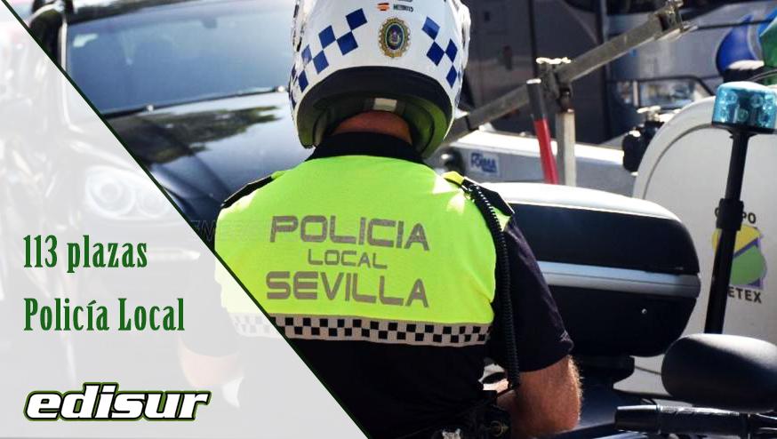 Plazas de Policía Local en el Ayuntamiento de Sevilla ‼️