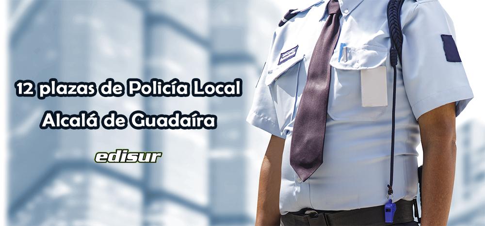 12 plazas de Policía Local
