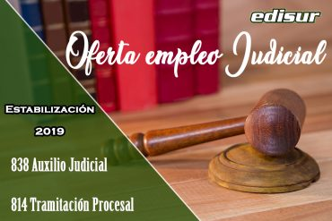Oferta empleo público judicial