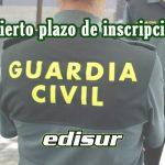 abierto plazo de inscripción Guardia Civil
