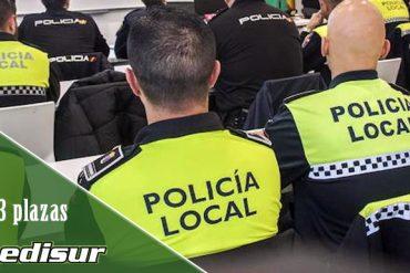 Abierto el plazo para presentar solicitudes de 3 plazas de Policía Local