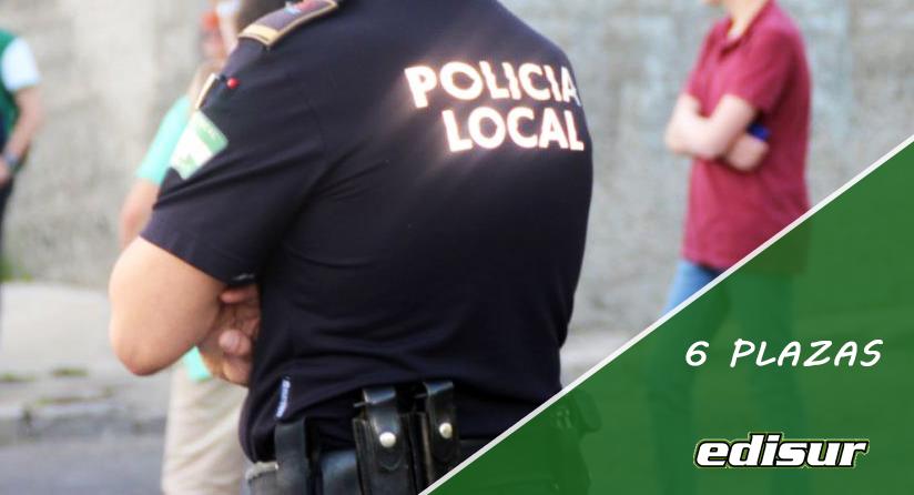 6 PLAZAS DE POLICÍA LOCAL EN EL AYUNTAMIENTO DE BERJA ❗️