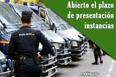 Presentación de instancias para Escala básica de Policía Nacional