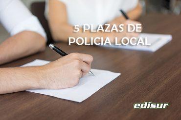 Cinco plazas de Policía Local en el Ayuntamiento de Viso Del Alcor