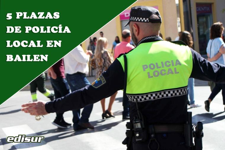Presentación de solicitudes a Policía Local en el Ayuntamiento de Bailen