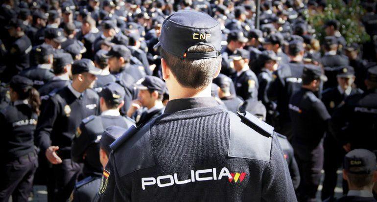 Relación de admitidos y excluidos a la oposición de Policía Nacional