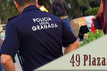 Convocatoria 49 plazas de Policía Local en el Ayuntamiento de Granada