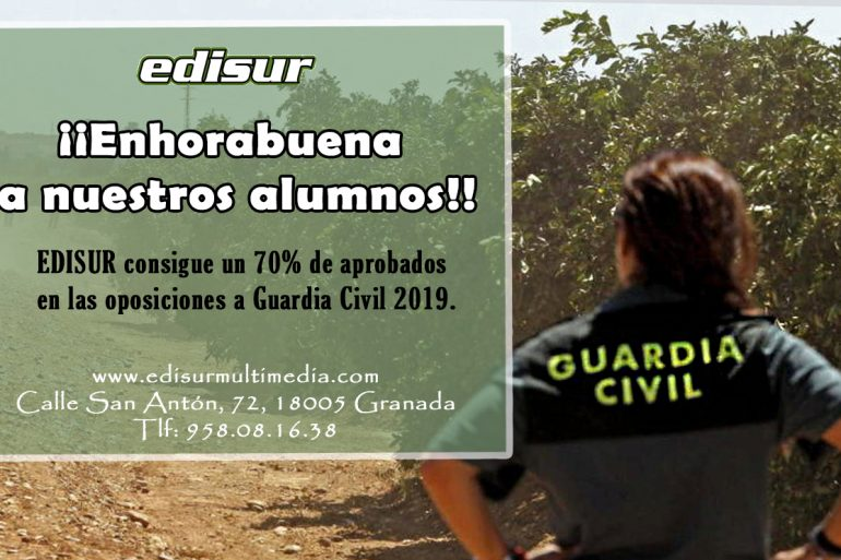 ¡¡ENHORABUENA A NUESTROS ALUMNOS DE GUARDIA CIVIL!!