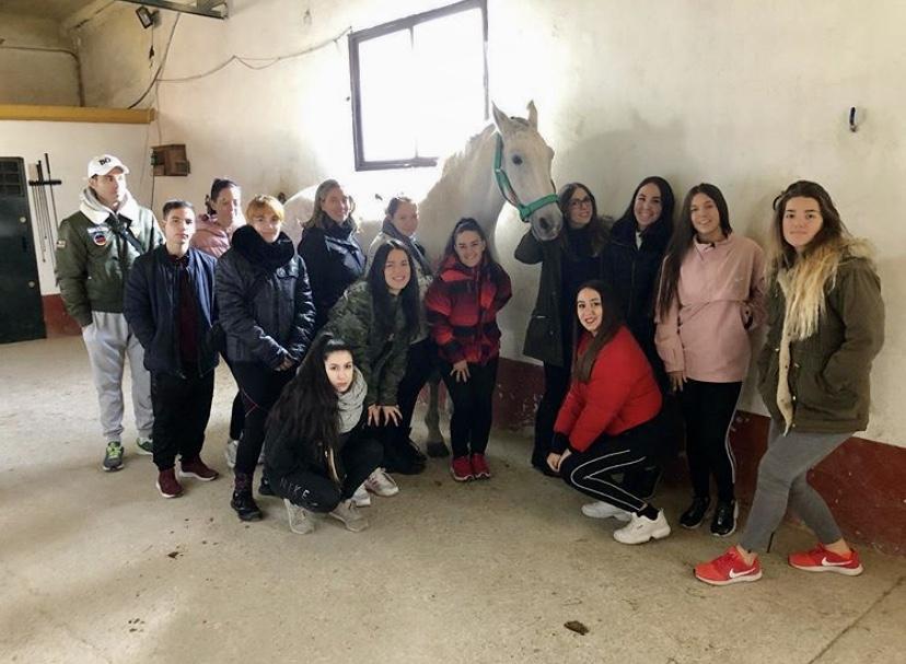 Nuestros alumnos Técnicos y Auxiliares de veterinaria en sus prácticas