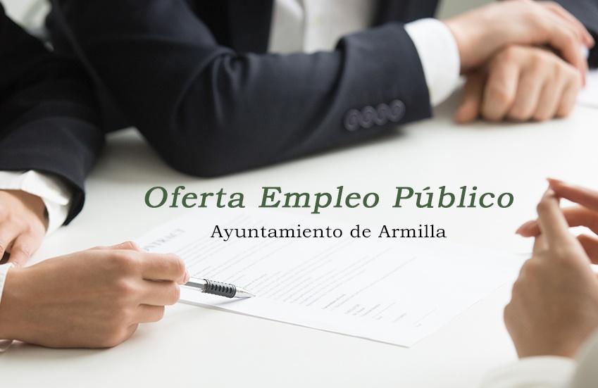 Oferta de Empleo Público para el 2019 en el Ayuntamiento de Armilla