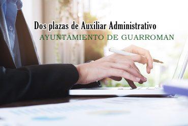 Solicitudes a plazas de Auxiliar Administrativo en Ayuntamiento Guarroman