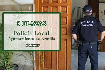 Bases y convocatoria para cubrir tres plazas de Policía Local funcionario