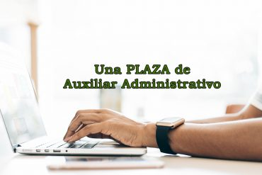 Abierto plazo de presentación de solicitudes a una plaza de funcionario