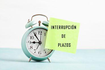 Interrupción de plazos para solicitud a plaza de Auxiliar Administrativo