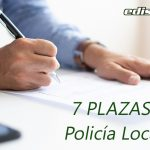 Abierto el plazo de presentación de instancias a Policía Local