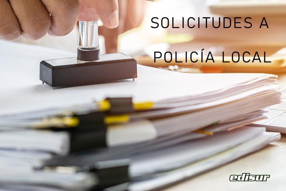Abierto plazo de solicitudes a plazas de Policía Local ✍️