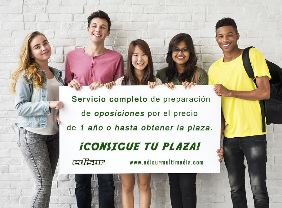 OPOSICIONES: SERVICIO COMPLETO 😎