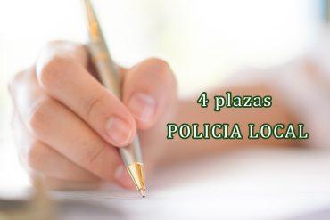 CUATRO PLAZAS DE POLICÍA LOCAL EN ARCOS DE LA FRONTERA
