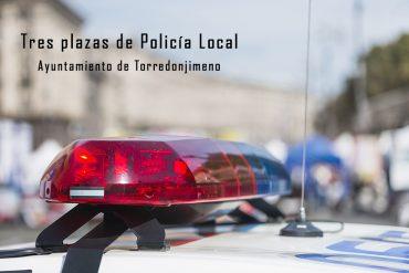 Tres plazas de Policía Local para el Ayuntamiento de Torredonjimeno
