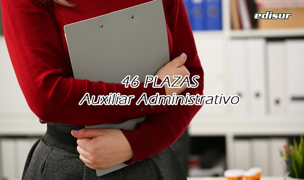 46 plazas de Auxiliar Administrativo en la Universidad de Granada ‼️