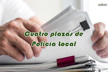 Cuatro plazas de Policía Local en el Ayuntamiento de Adra, Almería
