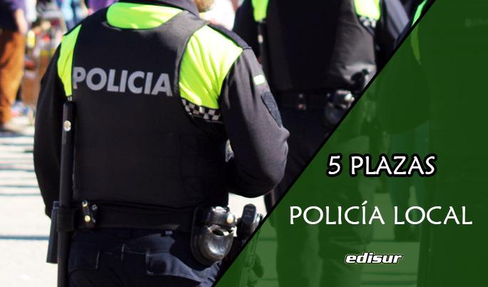 Cinco plazas de Policía Local en Ayuntamiento de Coria del Río