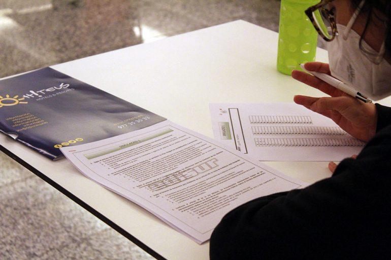 Simulacros preparativos para examen de oposiciones de nuestros alumnos