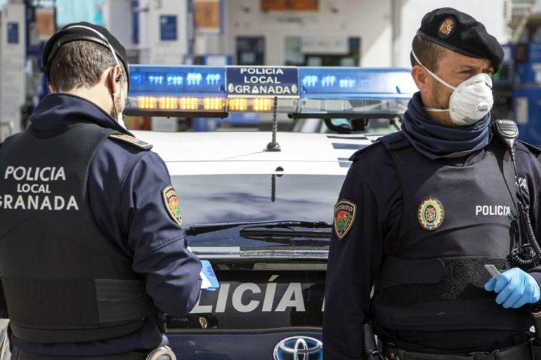 Lista de admitidos para plazas de Policía Local en Armilla, Granada