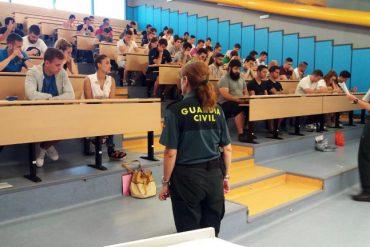 Fecha y sedes de examen a Cabos y Guardias de la Guardia Civil ?