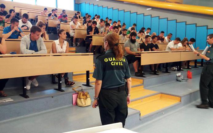 Fecha y sedes de examen a Cabos y Guardias de la Guardia Civil 📌