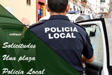 Solicitudes a una plaza de Policía Local en Huesa, Jaén