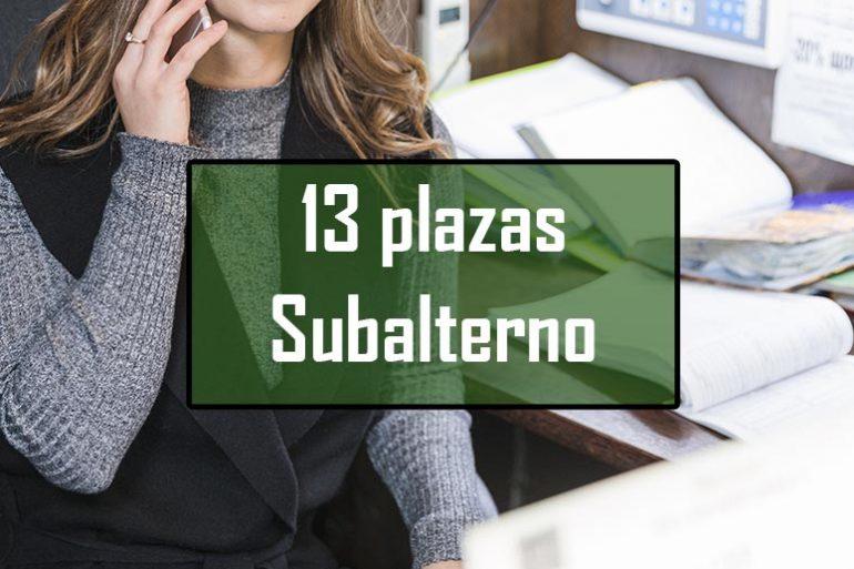 Bases para la selección de subalternos/as en Cádiz
