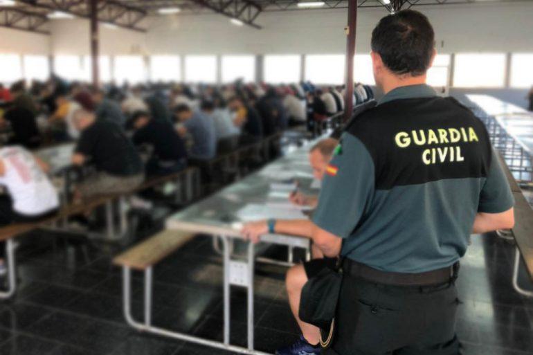 Resultado provisional pruebas ortografía a la Guardia Civil
